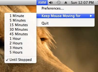 Mouse Mover Software for Mac version Leopard onwards